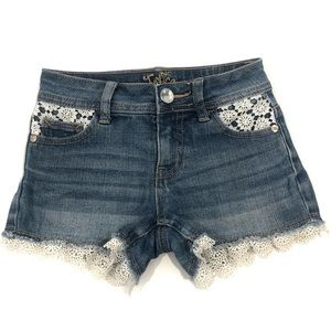 🎉Bundle Sale🎉 Justice Lace trim Girls Shorts